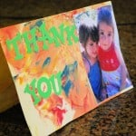 Shaving Cream Cards and Gift Wrap