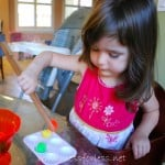 Fine Motor Skills Activity with Tongs