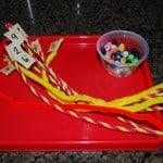 Fine Motor Skills Counting Activity