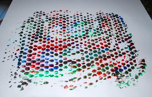bubble wrap art prints