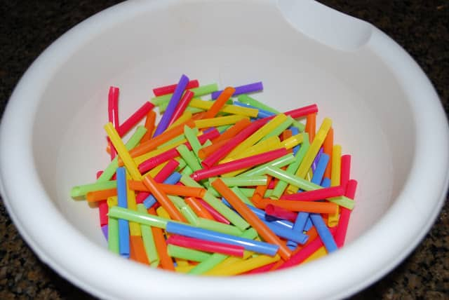 cut straws