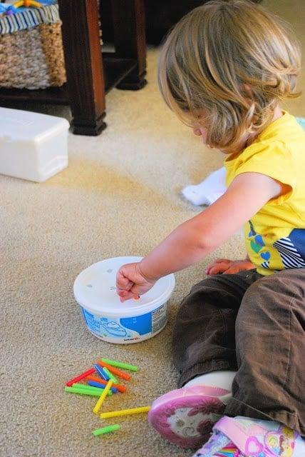 fine motor skills for toddlers