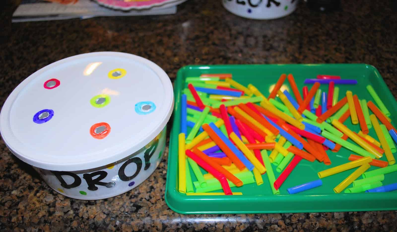 Fine Motor Skills Color Recognition Game - Mess for Less