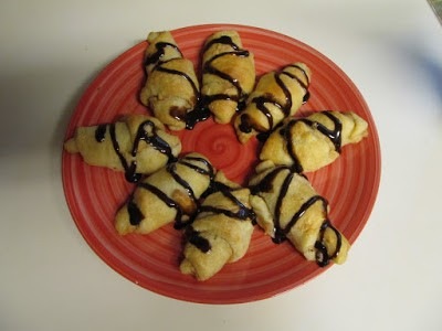 Peanut Butter Chocolate Chip Crescents