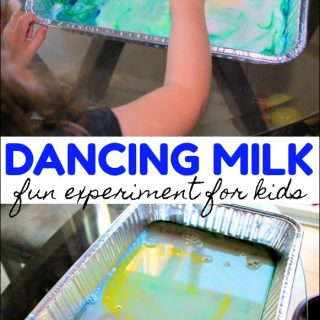 Colorful Dancing Milk