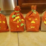 Halloween Crafts: Paper Bag Pumpkins