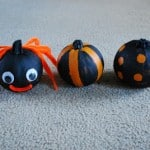 Painting Pumpkins 3 Ways