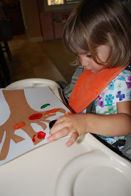 Fall Tree Craft for Toddlers