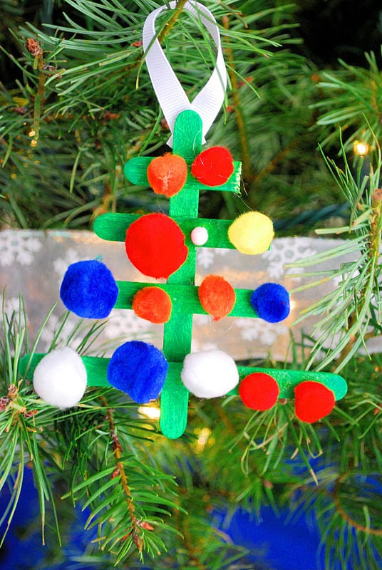 christmas craft ideas for parents kid made ornaments mess for less 6023