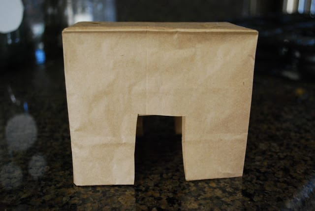 paper bag donkeys