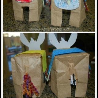 Paper Bag Donkeys – Donkey Crafts for Kids