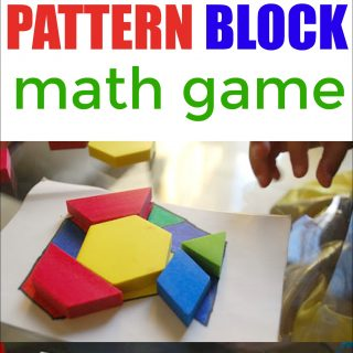 Pattern Block Math Game