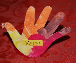 Blog Swap with One Artsy Mama: Turkey Placecards