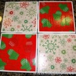 Craft for Moms: Christmas Coasters