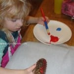 Pine Cone Ornaments – Guest Post from There's Just One Mommy