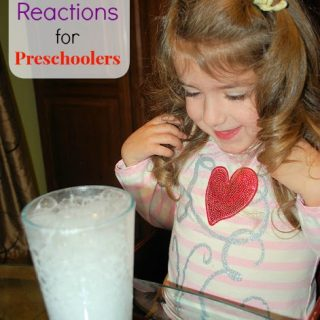 Simple Science – Chemical Reactions for Preschoolers