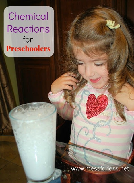 These chemical reactions fore preschoolers will amaze and delight kids. Teach kids science concepts in a fun and hands on way.