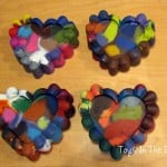 Making Valentine Crayons