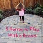 Outdoor Fun: 5 Games to Play With a Broom