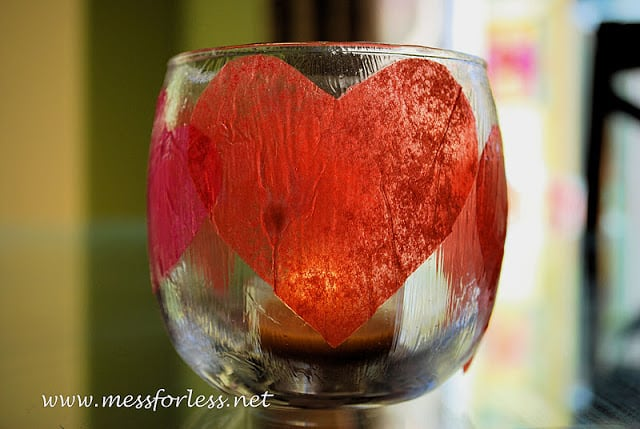 pretty heart votives