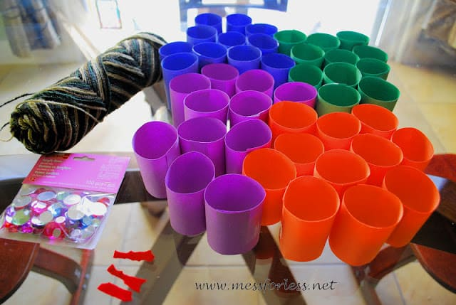 colorful pattern making