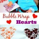 Bubble Wrap Hearts