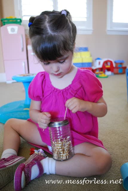 Thrifty Thursday Fine Motor Skills From The Dollar Store