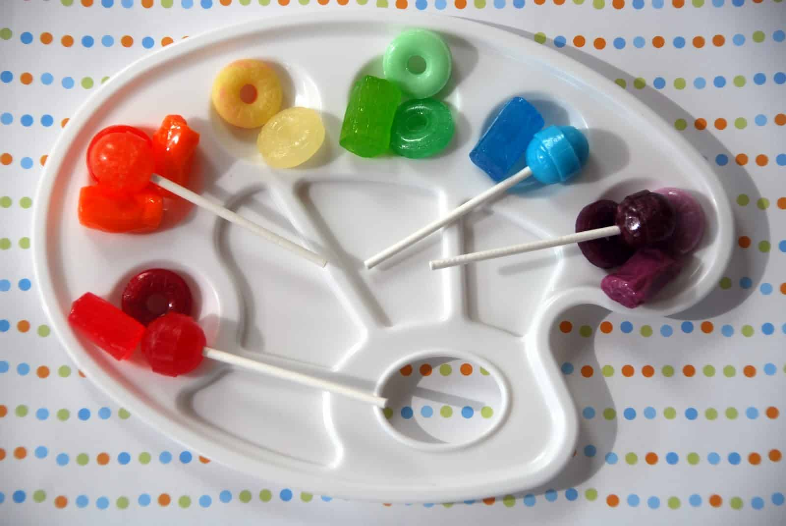 Homemade Lollipops - Guest Post from Meaningful Mama - Mess