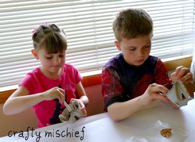 bird's next craft for kids