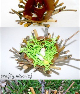 Bird's Nest Craft for Kids