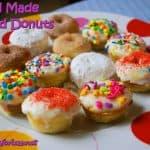 Food Fun Friday: Homemade Mini Baked Donuts