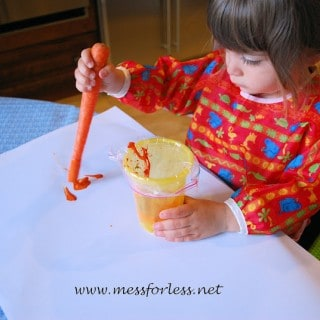 Painting with Carrots