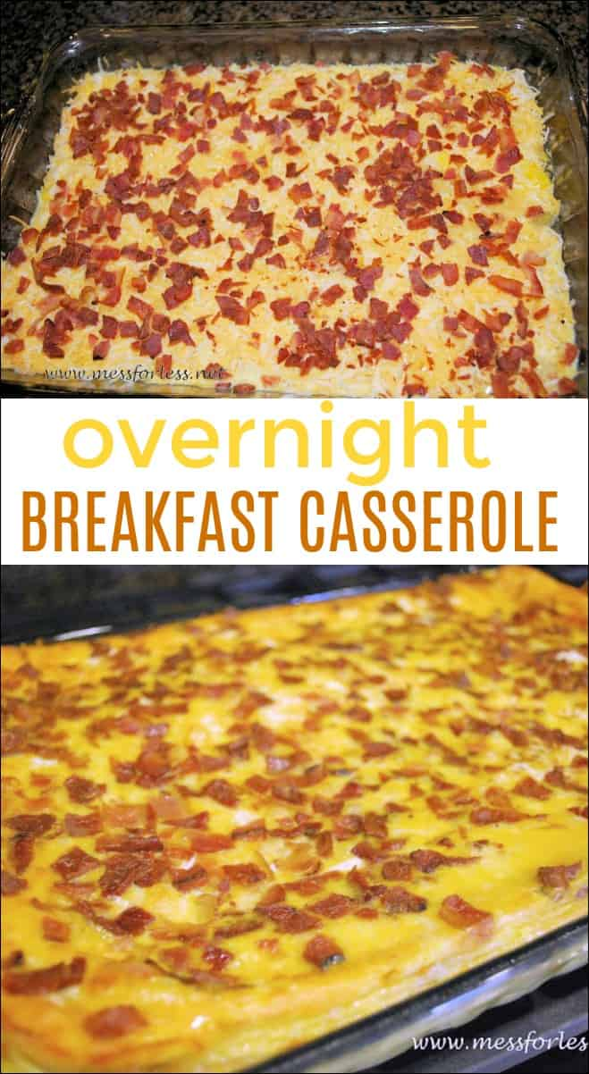 This easy breakfast casserole is a crowd pleaser that can be assembled the night before.