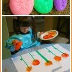 Making Sponge Flowers
