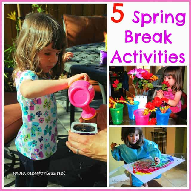 Featured 5 Spring Projects: 5 Spring Break Activities