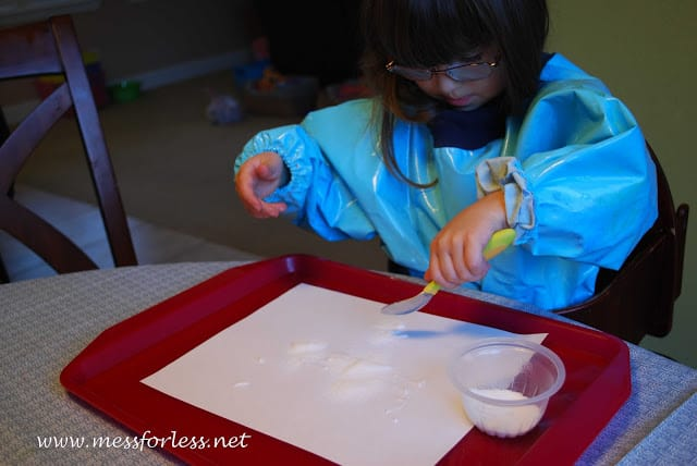 Dripping Salt Painting
