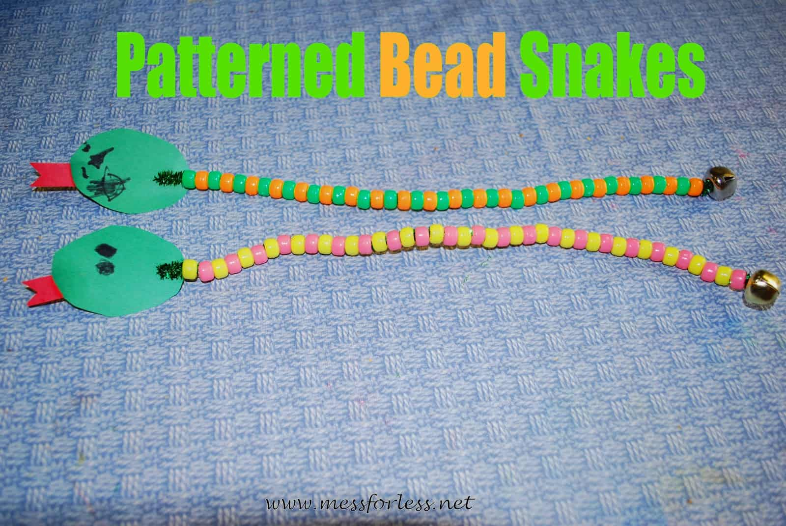 Patterned Bead Snakes Mess For Less