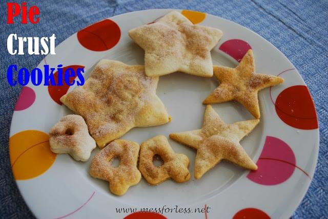 4th of july Pie Crust Cookies