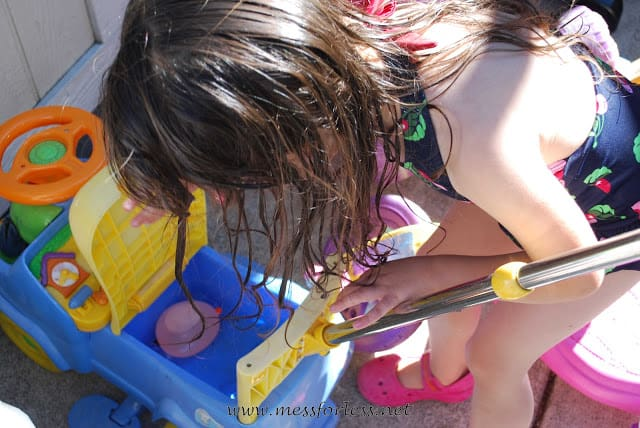finding water balloons