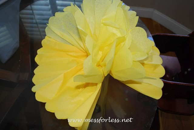 tissue paper decor