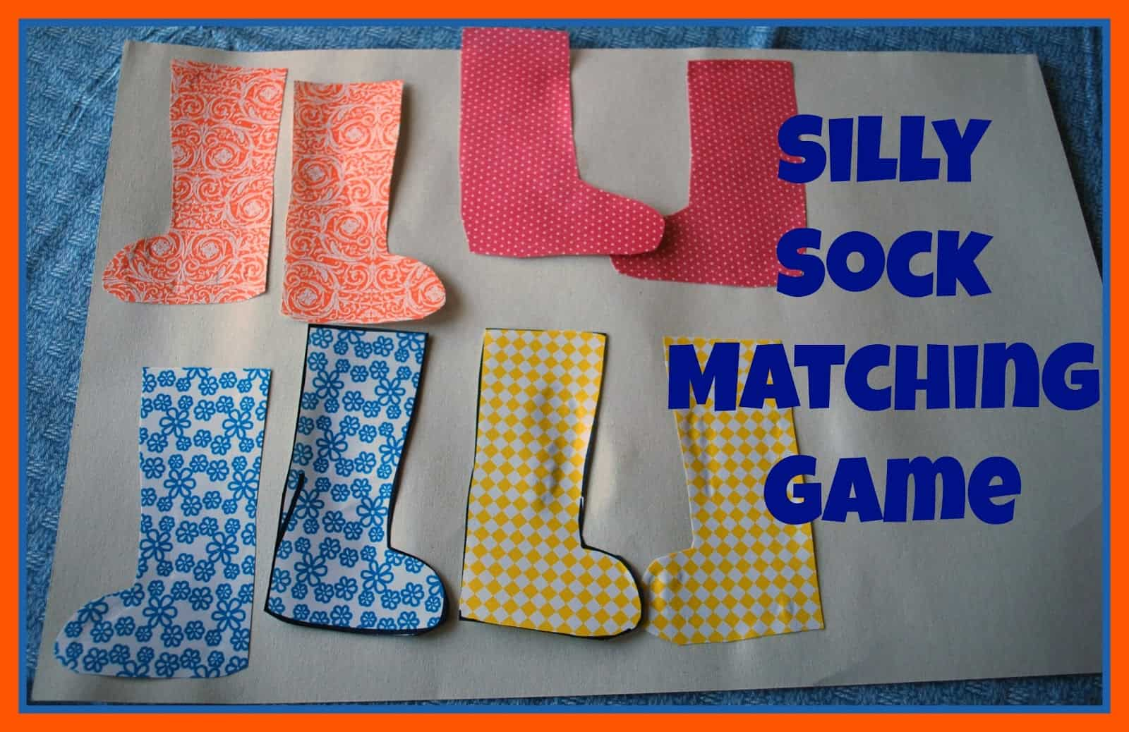 Game Socks Silly Sock Matching Game
