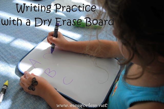 Handwriting Practice, Fine motor skills