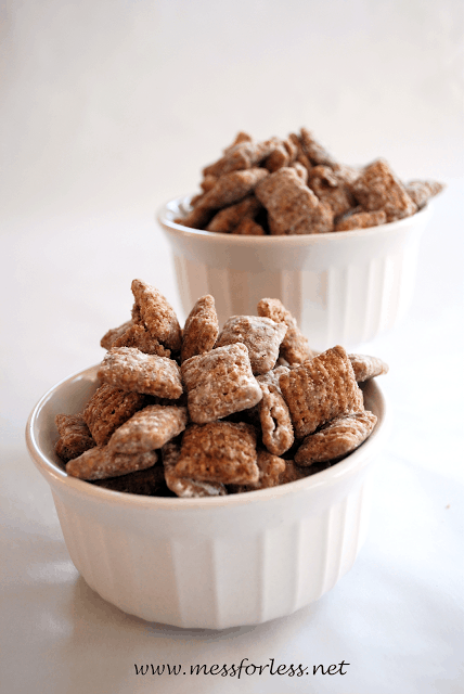 Muddy Buddies - so easy to make with kids and oh so GOOD!