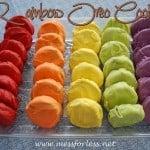 Rainbow Oreo Cookies