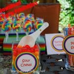 Free Rainbow Party Printables