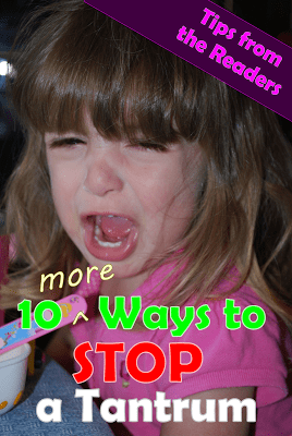 10 More Ways to Stop a Tantrum, What are tantrums, #parenting