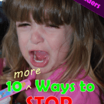 10 MORE Ways to Stop a Tantrum – Tips from the Readers