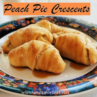 Food Fun Friday – Peach Pie Crescents