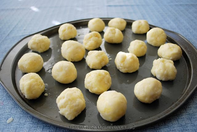 Pão de queijo is Brazilian Cheesy Bread