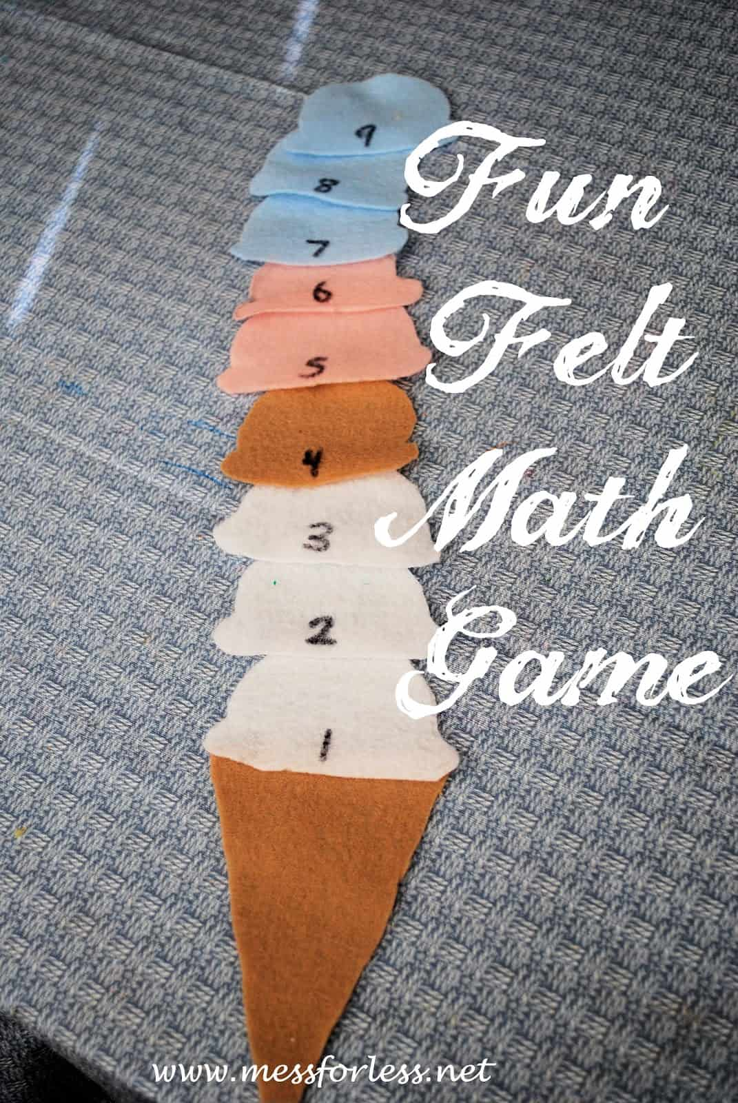 Yummy Ice Cream Math Games - Mess for Less